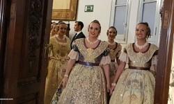 Proclamación de las falleras mayores de Valencia 2018 Rocío Gil y Daniela Gómez (98)