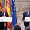 Puig defiende la necesidad de un 'marco estable' de colaboración para garantizar el cumplimiento de la Agenda Valenciana de Infraestructuras.