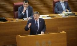 Puig reivindica un cambio en el modelo de financiación que garantice los derechos fundamentales de los valencianos.