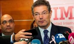 Rafael Catalá afirma que 'no hay alternativa' al artículo 155 pese 'a los llamamientos al diálogo'.