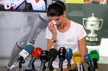 Ruth Beitia anuncia su retirada del deporte.