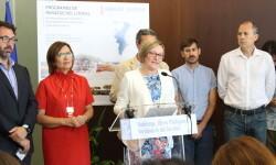Salvador presenta las cuatro zonas piloto que impulsará la Generalitat para empezar la regeneración y la puesta en valor del litoral