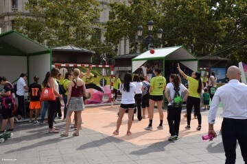 Tour Mujer, Salud y Deporte en la plaza del Ayuntamiento de València (11)
