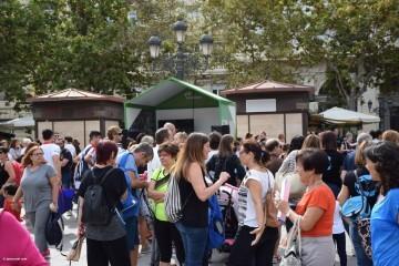 Tour Mujer, Salud y Deporte en la plaza del Ayuntamiento de València (29)
