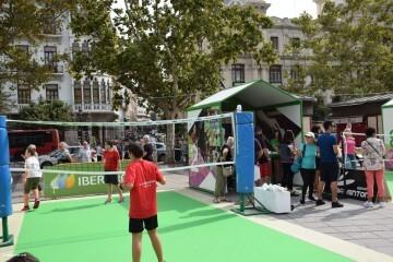 Tour Mujer, Salud y Deporte en la plaza del Ayuntamiento de València (8)