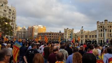 Una manifestación nacionalista del 9 de Octubre en Valencia con tensión (106) (Medium)