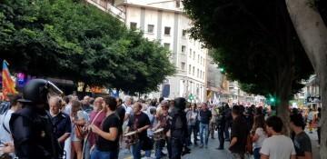 Una manifestación nacionalista del 9 de Octubre en Valencia con tensión (119) (Medium)