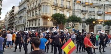 Una manifestación nacionalista del 9 de Octubre en Valencia con tensión (137) (Medium)