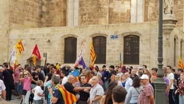 Una manifestación nacionalista del 9 de Octubre en Valencia con tensión (26) (Medium)