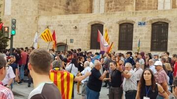 Una manifestación nacionalista del 9 de Octubre en Valencia con tensión (27) (Medium)