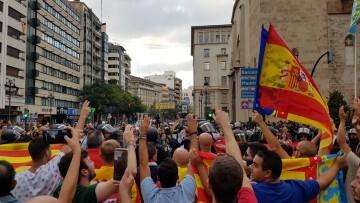 Una manifestación nacionalista del 9 de Octubre en Valencia con tensión (67) (Medium)