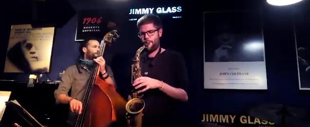 Víctor Jiménez en el Jimmy Glass.