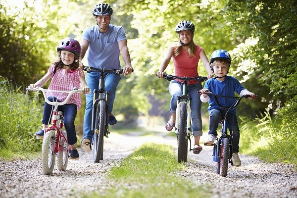familia-bicicleta