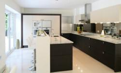 Brand new Kitchen in luxury house.