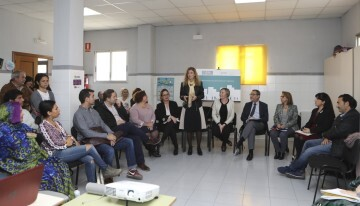 13-11-2017 L'alcaldessa destaca el suport de la consellera Salvador al barri Sant Llorenç després d'anys d'abandó inversor en la zona Oest de Castelló
