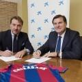 CaixaBank renueva su condición de patrocinador oficial del Levante UD hasta el año 2020.