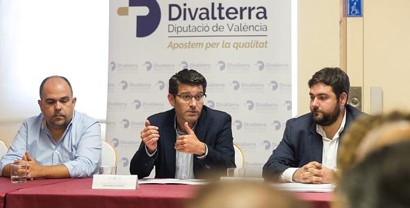 Clausura jornadas Divalterra en Rafelbunyol.