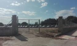 Depósito de vehículos en La Papelera