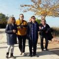 El Ayuntamiento rehabilita el embarcadero del Perellonet y mejora el en torno a la antigua escuela del pueblo.