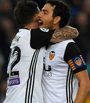 El Valencia se mantiene segundo en la tabla.