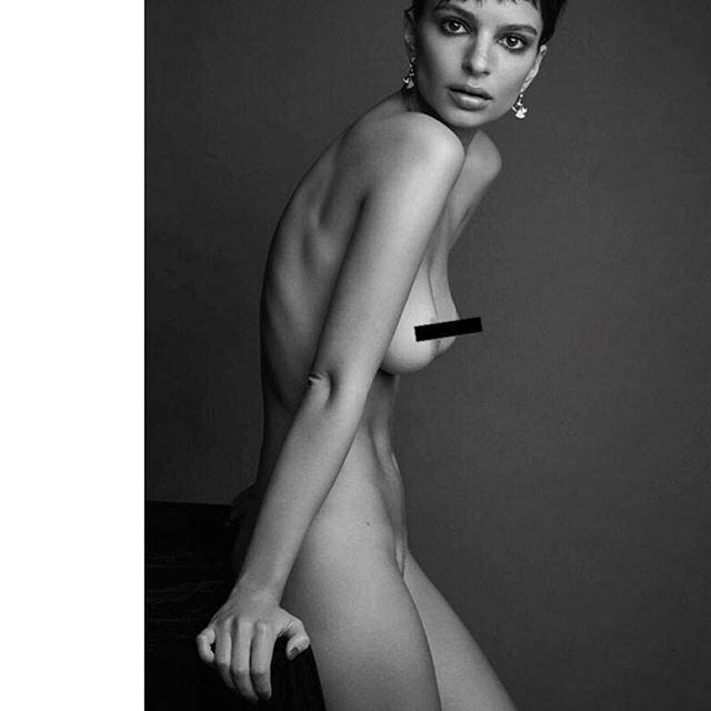 El desnudo de Emily Ratajkowski en Instagram