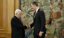 El rey Felipe VI apoya ante Abás 'las legítimas aspiraciones' a un Estado palestino