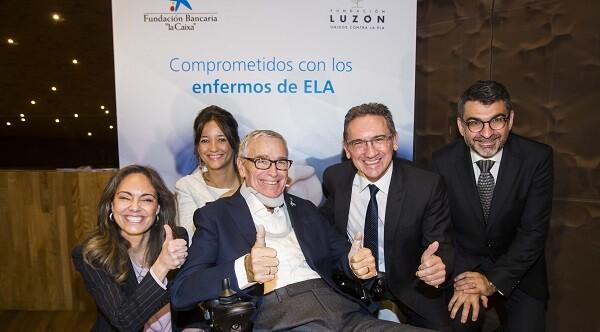 Foto de la Alianza Fundación Luzón-Fundación Bancaria la Caixa.