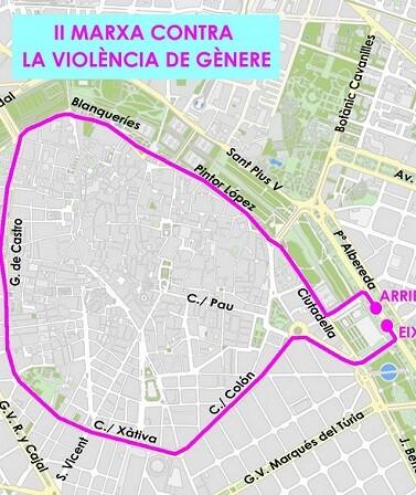 II Marcha Competitiva contra la violencia de Género.