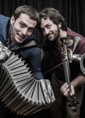 Jorge Arribas y Diego Galaz, integrantes del dúo Fetén Fetén. - copia
