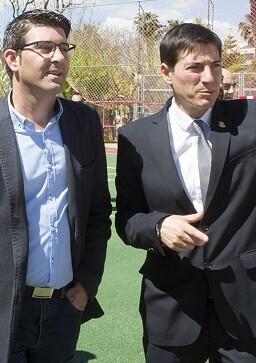 Jorge Rodríguez visita obras en Burjassot