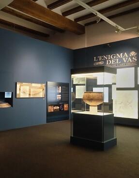 'L'Enigma del Vas', una de las muestras que se exhiben en las salas del Museu de Prehistòria.