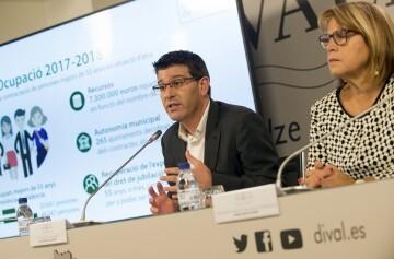 La Diputació facilitará la creación de 1.000 puestos de trabajo para personas mayores de 55 años.