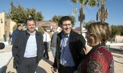 La Diputació invierte 440.000 euros en Guadasséquies y ayuda a acabar la glorieta y renovar los espacios verdes.