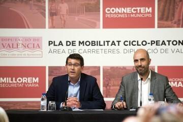 La Diputación construirá una pasarela para acceder de forma segura al área recreativa de Venta del Moro.