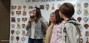 La Seu-Xerea-El Mercat celebró la merienda de relevos infantiles (3)