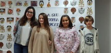 La Seu-Xerea-El Mercat celebró la merienda de relevos infantiles (4)
