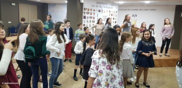 La Seu-Xerea-El Mercat celebró la merienda de relevos infantiles (64)