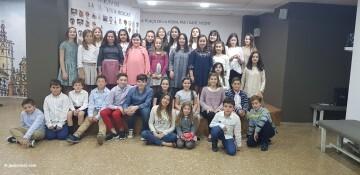 La Seu-Xerea-El Mercat celebró la merienda de relevos infantiles (65)
