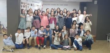 La Seu-Xerea-El Mercat celebró la merienda de relevos infantiles (66)