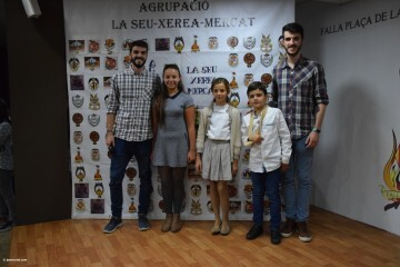La Seu-Xerea-El Mercat celebró la merienda de relevos infantiles (70)