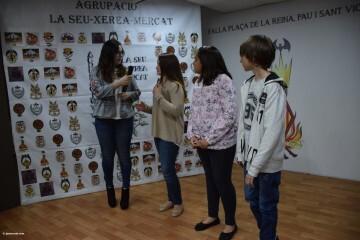 La Seu-Xerea-El Mercat celebró la merienda de relevos infantiles (71)