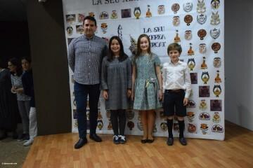 La Seu-Xerea-El Mercat celebró la merienda de relevos infantiles (76)
