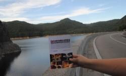 Las cadenas literarias de 'Libro, vuela libre' llegan a Transilvania. (Foto-Lorena Ballesteros).