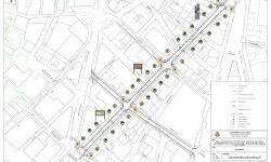 Las obras complementarias de la calle Sant Vicent pondrán en valor la Vía Augusta romana