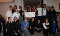 Mª José Martínez, Begoña Rodrigo, Carito Lourenço y Chabe Soler recaudan 2.730 euros para la Fundación Ana Bella 2