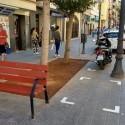 Movilidad regula el estacionamiento de motos y bicicletas en la reubarnización del Cabanyal