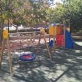 Parques y Jardines abre a la ciudadanía el nuevo parque con juegos infantiles de la calle Carolina Álvarez.