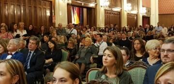 Proclamación de las FFMM 2018 de la falla Plaza de la Mercé comision (3) (Medium)