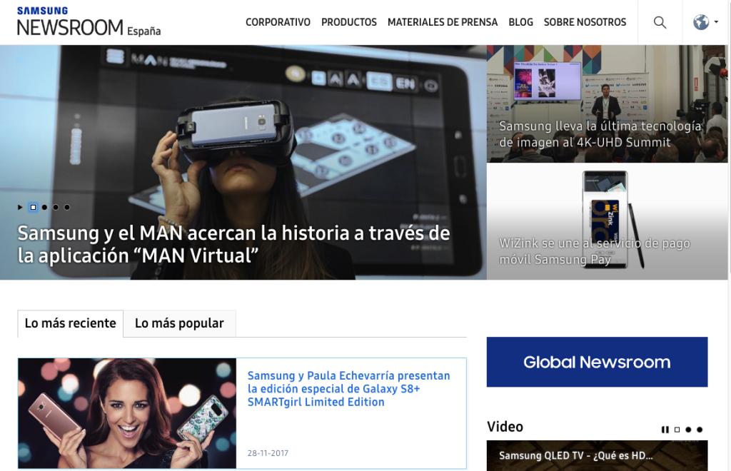 Samsung Newsroom 1