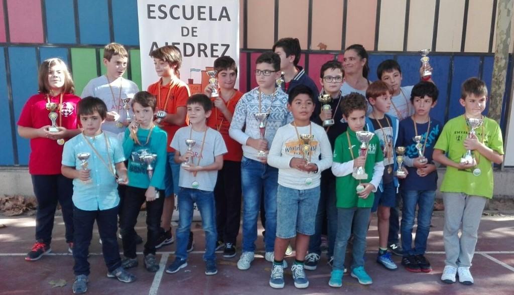 Torneo municipal de ajedrez en el CEP Aiora de Valencia (2)